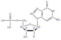 2H Deoxyguanosine 5'- monophosphate