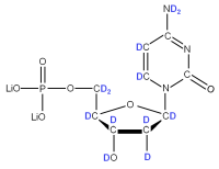 2H Deoxycytidine 5'- monophosphate