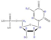 2H Thymidine 5'- monophosphate