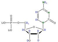 2H 15N Deoxycytidine 5'- monophosphate