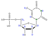 2H 15N Thymidine 5'- monophosphate