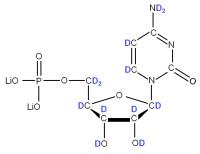 2H Cytidine 5'- monophosphate lithium salt  solution