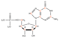 13C Guanosine 5'- monophosphate lithium salt  solution