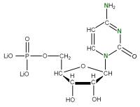 15N Cytidine 5'- monophosphate lithium salt  solution