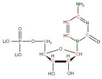 13C 15N Cytidine 5'- monophosphate lithium salt  solution