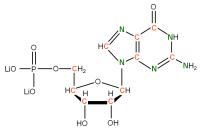 13C 15N Guanosine 5'- monophosphate lithium salt  solution