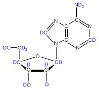 U-2H Deoxyriboadenosine  powder