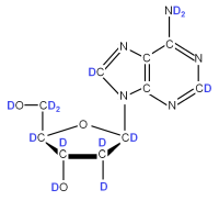 2H Deoxyriboadenosine  powder