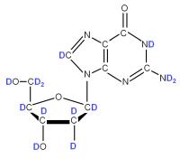 2H Deoxyriboguanosine  powder