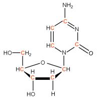 U-13C Deoxyribocytidine  solution or powder