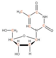 U-13C Thymidine solution or  powder