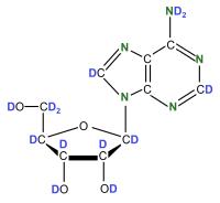 U- 2H U-15N  Deoxyadenosine  powder