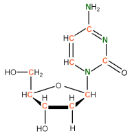 U-13C U-15N  Deoxyribocytidine  solution or powder
