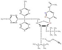 2H5 13C6 13C1' Cytidine  Phosphoramidite powder