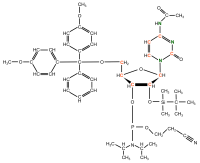 U-13C U-15N Cytidine  Phosphoramidite powder