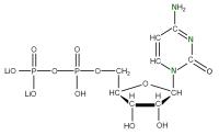 15N Cytidine 5'-diphosphate  lithium salt solution