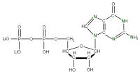 15N Guanosine 5'- diphosphate lithium salt  solution
