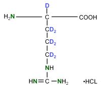 2H 15N  L-Arginine  hydrochloride powder