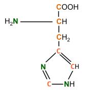 13C 15N L-Histidine powder