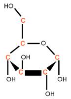 13C D-Glucose powder